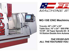 Fryer -  MC-E Series   Economical Machine Centre - picture2' - Click to enlarge