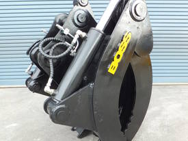 BOSS 13-60 TONNE MECHANICAL 3/5 FINGER GRAB - picture1' - Click to enlarge