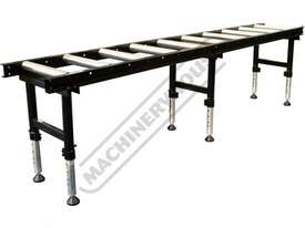 RC-450HD Roller Conveyor with Adjustable Stands - Heavy Duty 540 x 3000mm Ø60mm Rollers - picture0' - Click to enlarge