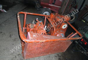 20cfm , skid mount lister diesel engine