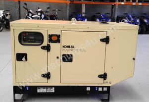 KOHLER 44kVA Diesel Generator KD44 Enclosed Cabinet John Deere Powered
