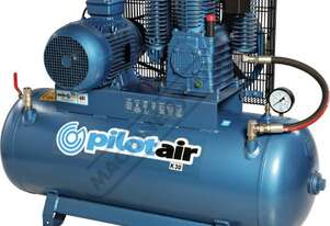 K30 Industrial Pilot Air Compressor 200 Litre / 7.5hp 30.8cfm / 871.8lpm Piston Displacement