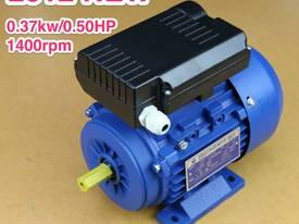 0.37kw/0.5HP 1400rpm 14mm shaft motor single-phase - picture0' - Click to enlarge