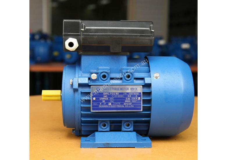 0.37kw/0.5HP 1400rpm 14mm shaft motor single-phase
