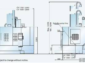 GV-1 Series  Heavy Duty Vertical Turning Centre - picture3' - Click to enlarge