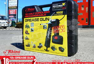 12V Grease Gun 2018 New Model Rechargeable TFGG6
