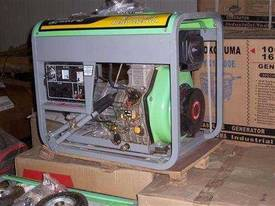 new 5.5kva silenced deisel , electric start ,  - picture1' - Click to enlarge