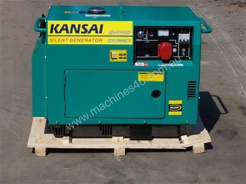 new 5.5kva silenced deisel , electric start ,