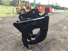 12 ton Excavator hydraulic Grab Grapple - picture0' - Click to enlarge