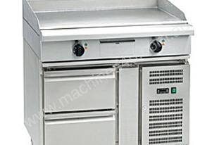 Waldorf 800 Series GP8900E-RB - 900mm Electric Griddle - Refrigerated Base