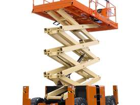 JLG 330LRT Engine Powered Scissor Lifts - picture0' - Click to enlarge