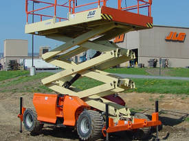 JLG 330LRT Engine Powered Scissor Lifts - picture20' - Click to enlarge