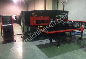 Amada AE2510NT Servo-Electric Turret Punch Press - High Productivity & Low Running Costs