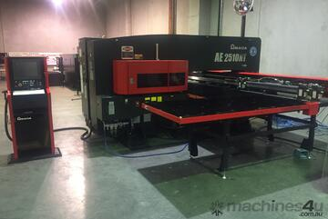 Amada AE2510NT & the   AE2610NT now available - Servo-Electric Turret Punch Press.