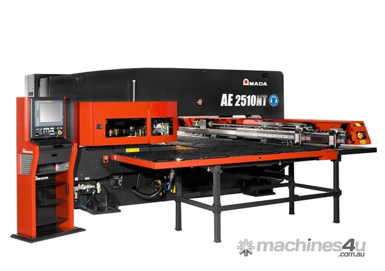 Amada AE2510NT & the new AE2610NT now available - Servo-Electric Turret Punch Press.