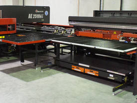 Amada AE2510NT & the new AE2610NT now available - Servo-Electric Turret Punch Press.   - picture2' - Click to enlarge