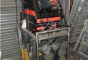 AXXAIR ORBITAL WELDER SASL200T WITH WIRE FEEDER