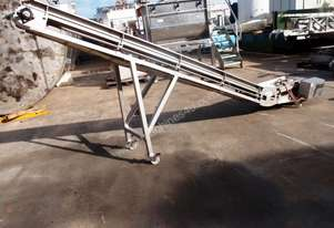 Tripax Incline Cleated Belt Conveyor