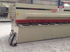 Used Durma DHGM 4000mm x 6mm Hydraulic Guillotine - picture0' - Click to enlarge