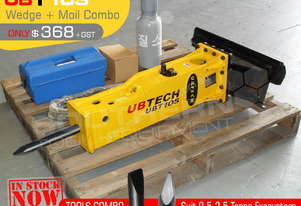 UBT10S Moils tools combo for Hydraulic Hammer
