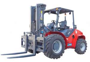 Enforcer 5T 2WD Rough Terrain Forklift, 4m mast (2 or 3 stage), Rent to own available. 5yr warranty