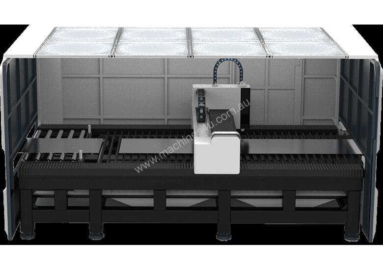Coil cutting laser -delivered and installed in to Major metro area