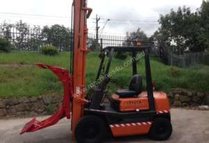 Toyota 2.0 Tonne Forklift - with Rotator & Clamp