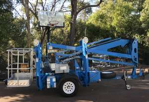 2012 GENIE TZ34/20 TRAILER MOUNTED CHERRY PICKER EWP
