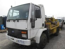 concrete line pump on ford cargo 1515 truck  - picture0' - Click to enlarge