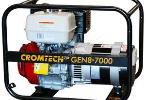 Cromtech Petrol 8.5kVA Petrol, powered by Honda