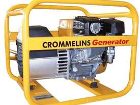 Crommelins 3.5kVA Generator Worksite Approved Petrol - picture0' - Click to enlarge