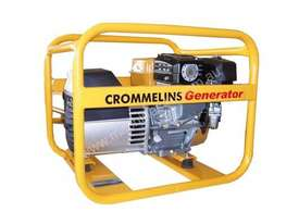 Crommelins 3.5kVA Generator Worksite Approved Petrol - picture1' - Click to enlarge