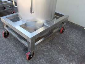 Stainless Steel Tapered Tank - picture2' - Click to enlarge