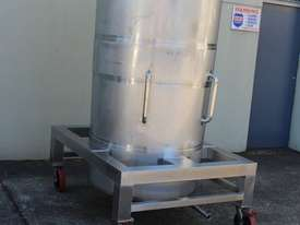 Stainless Steel Tapered Tank - picture5' - Click to enlarge