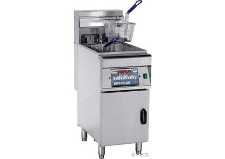 F.E.D Electric Fryer with Cold Zone - Computerized Single Vat DZL-28