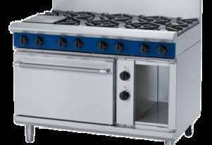 Blue Seal Evolution Series GE508D - 1200mm Gas Range Electric Static Oven