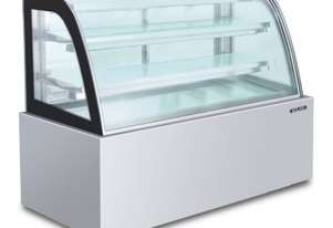Semak CS1800-SS-3 Confectionery Showcase 1800 Curved Stainless