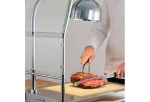 Alto Shaam CS-100S Single Heat Lamp Carving Station Sneeze Guard