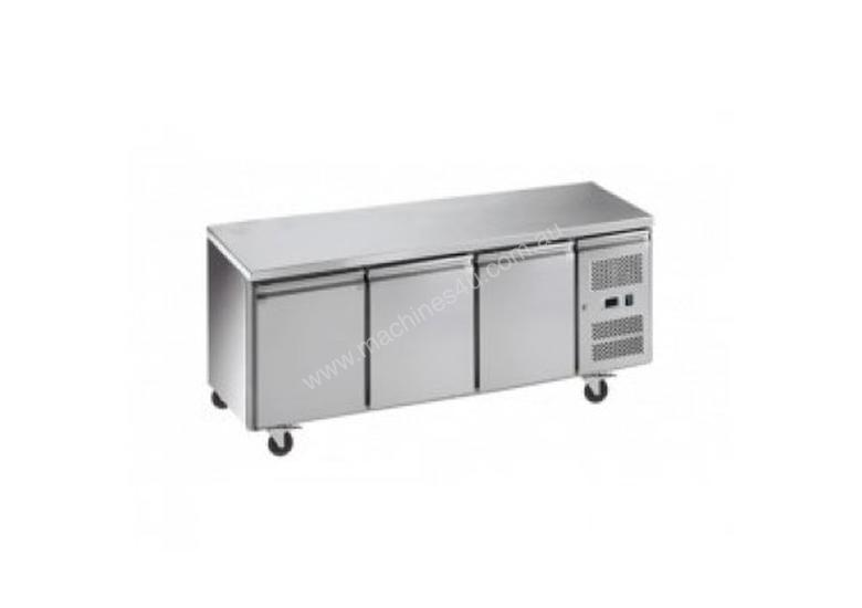 Exquisite SSF400H Snack Size Under Bench Freezer - Solid Doors