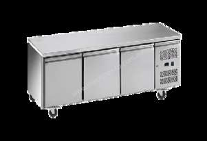 Exquisite SSC400H Snack Size Under Bench Chiller - Solid Doors