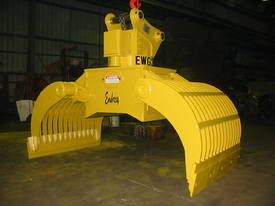 EWG  Embrey waste handling grapple - picture0' - Click to enlarge