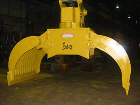 EWG  Embrey waste handling grapple - picture1' - Click to enlarge