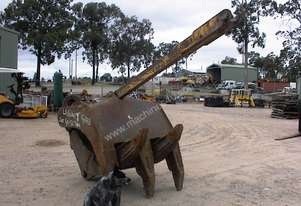 Labounty 5 finger grab to suit 40-50 tonne excavator