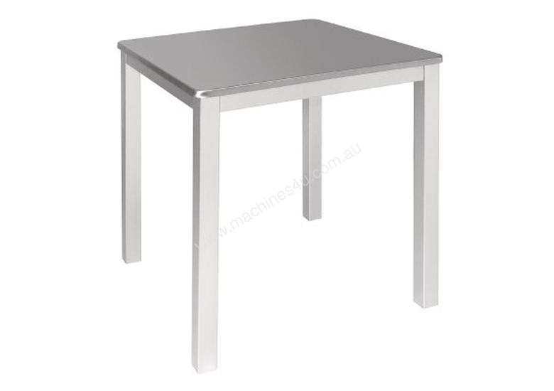 New bolero bolero stainless steel square bistro table dining tables bolero stainless steel square bistro table watchthetrailerfo