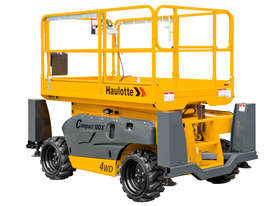 Haulotte Compact 12DX Diesel Scissor Lift - picture0' - Click to enlarge