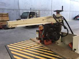 LEDA 620MM XCUT 4.5HP SAW WITH ROLLER TABLES - picture4' - Click to enlarge