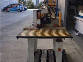 LEDA 620MM XCUT 4.5HP SAW WITH ROLLER TABLES - picture5' - Click to enlarge