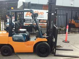 Toyota Forklift 7FG30 3 Ton 4.5m Lift Refurbished Excellent Condition - picture1' - Click to enlarge