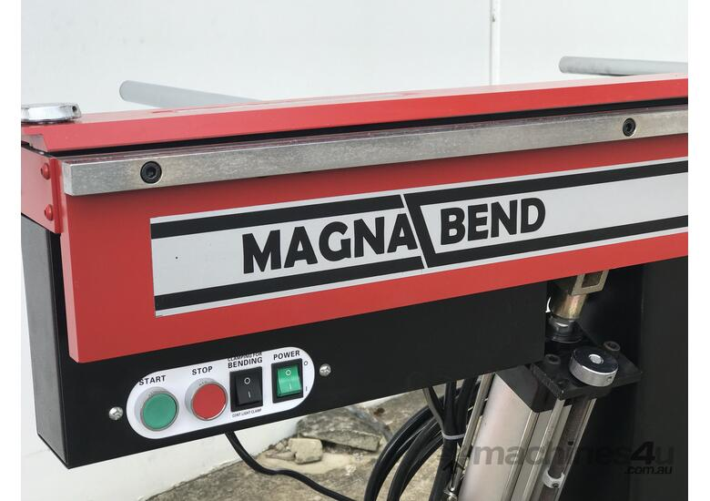 New Powered Magnabend is Here! - No more lifting!