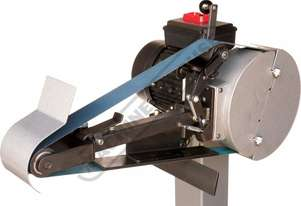 SR-602 Select-A-Rad Pedestal Belt Grinder & Notcher 50 x 1520mm Belt Size 5 Work Stations